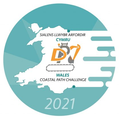 Logo - The DPJ Wales Coastal Path Challenge 2021