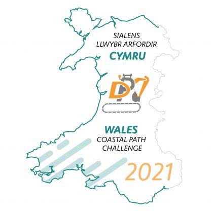 Medal - The DPJ Wales Coastal Path Challenge 2021